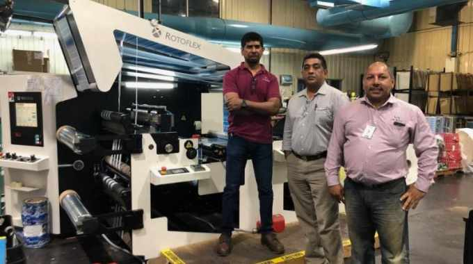 The Label House Group with its Rotoflex VLI-800