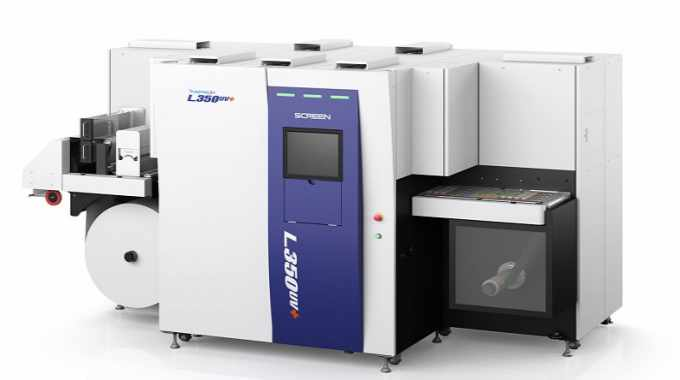 Label Link's Screen Truepress Jet L350UV+ features the newly supported orange ink