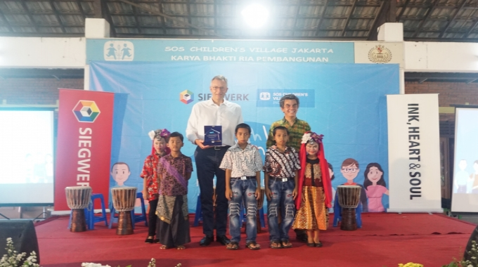 Siegwerk supports educational charity efforts in Indonesia