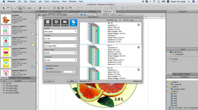 At Labelexpo Americas 2018, Tilia Labs is showcasing the new features of Phoenix 7.0