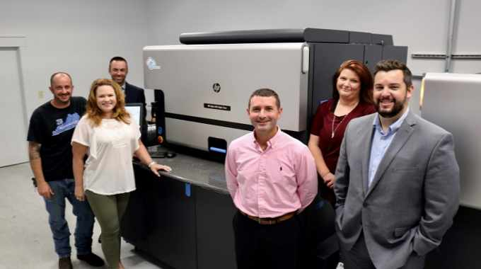 The label converter recently completed installation of the HP Indigo 6900 at its greater Lexington site to deliver digitally printed shrink sleeves, high-quality wine and spirit labels and security features for its clientele that includes leading brands in the US