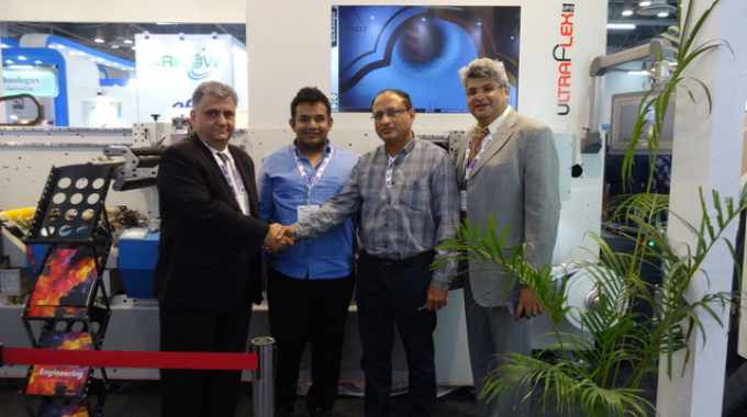 The deal was signed at Labelexpo India 2018