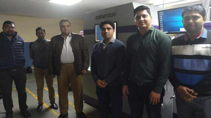 Monotech Systems has completed the installation of first Jetsci Colornovo UV inkjet label production press at Wonderpac India.