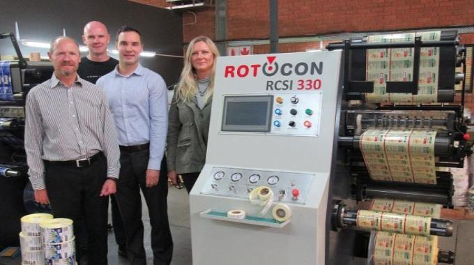 Zippy Labels drives productivity with MPS and Rotocon