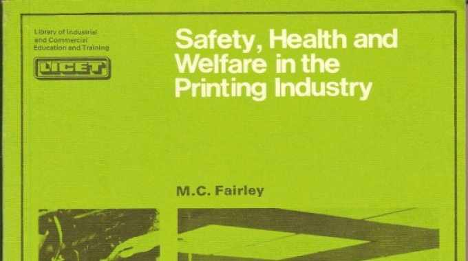 His book, Safety, Health and Welfare in the Printing Industry, was published by Pergamon Press in 1968