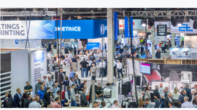 A survey of Labelexpo Americas visitors found that 53 percent planned to buy equipment seen on the show floor within the next six to 12 months